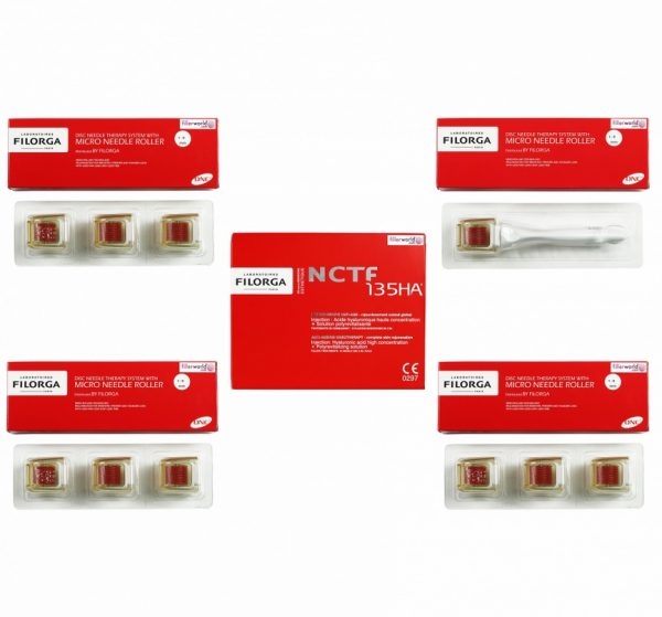 Buy Filorga NCTF 135HA with needle roller – 10 x 3ml