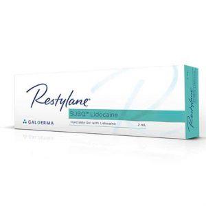 Buy Restylane SUBQ Lidocaine 1 x 2ml Online