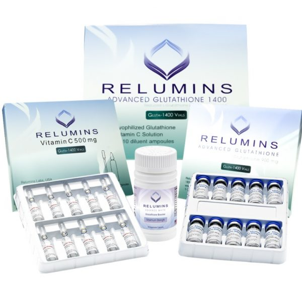 Buy Relumins Advanced Glutathione 1400mg PLUS Boosters